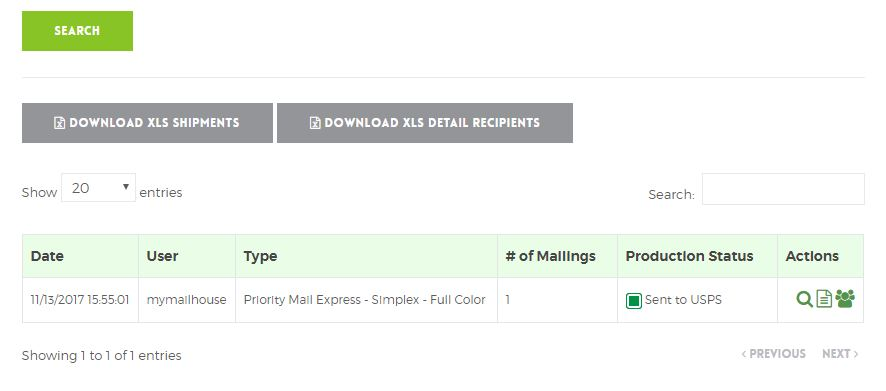 Track your Priority Express Mail® with myMailHouse